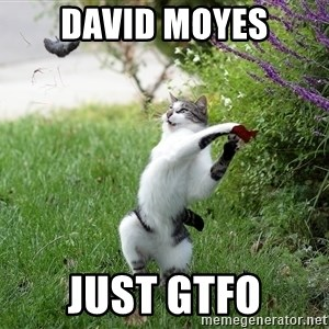 GTFO - david moyes just GTFO