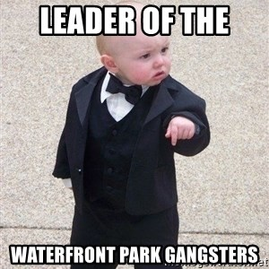 gangster baby - Leader of the  Waterfront park gangsters