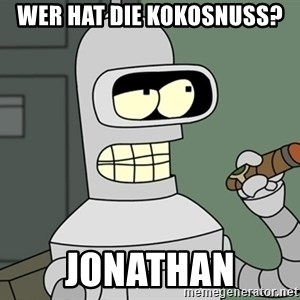 Typical Bender - Wer HAT DIE KOKOSNUSS? JoNATHAN