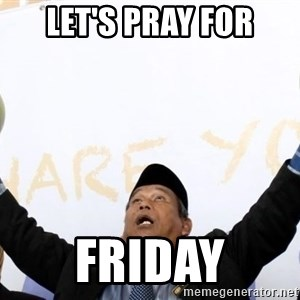 Malaysia Coconut Bomoh - Let's pray for Friday