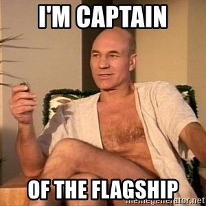 Sexual Picard - I'm Captain of the flagship