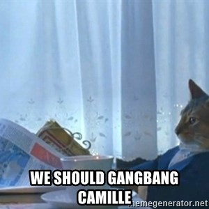 Sophisticated Cat -  We should gangbang Camille