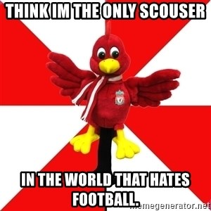 Liverpool Problems - Think im the only scouser in the world that hates football.