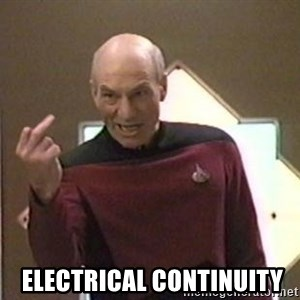 Picard Finger -   Electrical Continuity