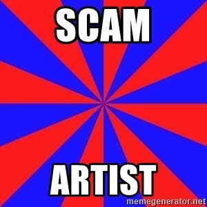background picture - SCAM ARTIST