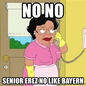 Consuela Hello No - No no Senior erez no like bayern