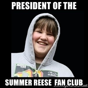 Samin makro - president of the summer reese  fan club