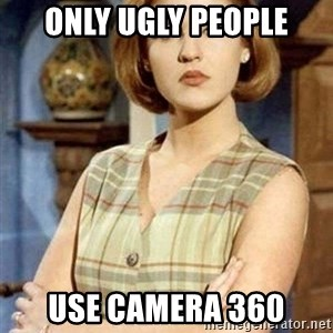 Chantal Andere - ONLY UGLY PEOPLE USE CAMERA 360