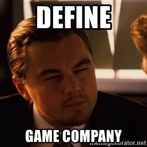 inceptionty - define Game Company
