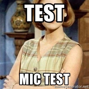 Chantal Andere - Test Mic Test