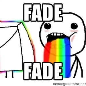 Puking Rainbows - FADE FADE