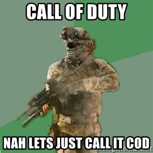 philosoraptor call of duty - Call of duty nah lets just call it cod