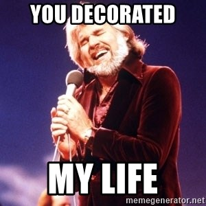 Kenny Rogers - You Decorated  My Life
