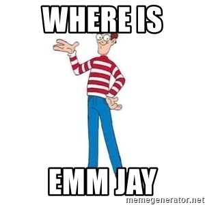 Where's Waldo - Where is  Emm Jay
