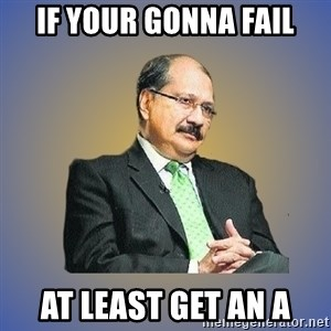 INDIAN PAPA - if your gonna fail at least get an a