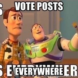 Xx Everywhere - Vote posts Everywhere