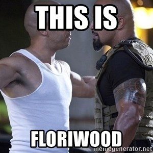 vin diesel the rock - THIS IS FLORIWOOD
