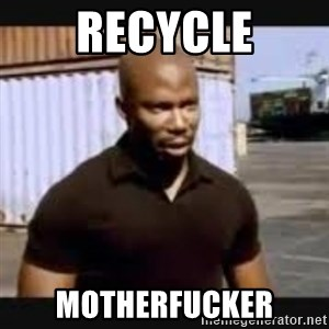 James Doakes surprise - Recycle motherfucker