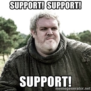 LovedHodor - SUPPORT!  SUPPORT! SUPPORT!