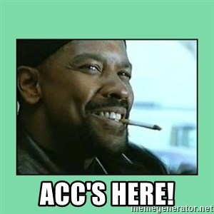 Training Day -  Acc's here!