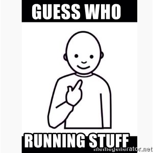 Guess who guy - Guess Who Running stuff