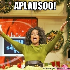Oprah Gives Away Stuff - Aplausoo!