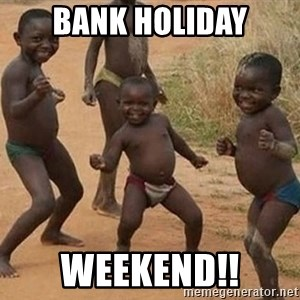 Dancing african boy - Bank Holiday Weekend!!