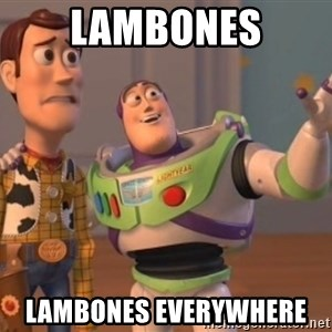 buzz light - Lambones lambones everywhere