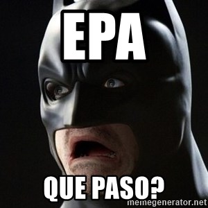 Shocked Batman - epa que paso?
