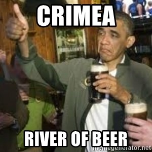obama beer - crimea river of beer