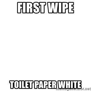 Blank Template - first wipe toilet paper white