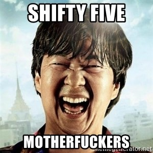 Mr.Chow - Shifty Five Motherfuckers