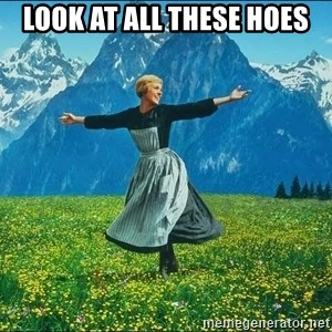 Look at all the things - Look at all these hoes
