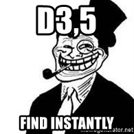 trolldad - D3,5 Find instantly