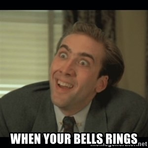 Nick Cage -  WHEN YOUR BELLS RINGS