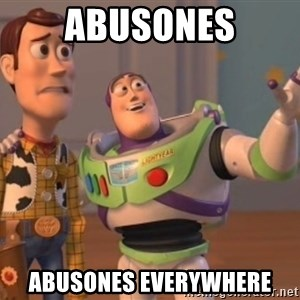 buzz light - abusones abusones everywhere