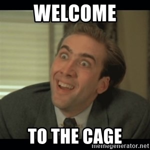 Nick Cage - Welcome to the cage