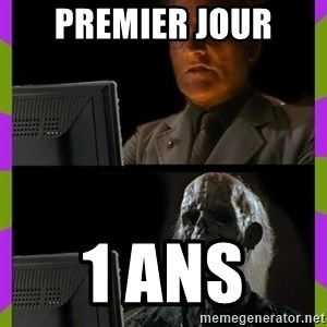 ill just wait here - premier jour 1 ans