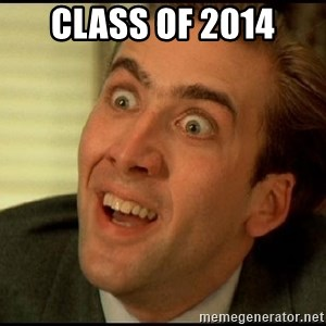 You Don't Say Nicholas Cage - Class of 2014