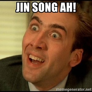 You Don't Say Nicholas Cage - Jin song ah!