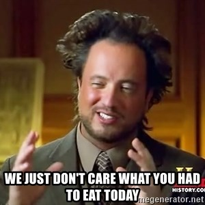 Giorgio A Tsoukalos Hair -  We just don't care what you had to eat today