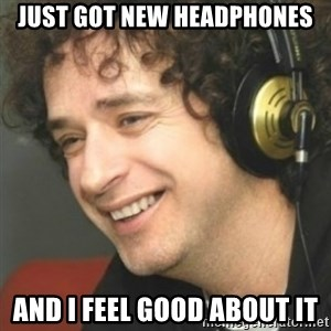 Gustavo cerati  - JUST GOT NEW HEADPHONES AND I FEEL GOOD ABOUT IT