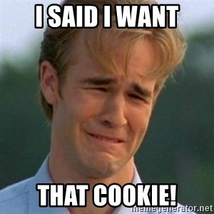 90s Problems - i said i want that cookie!