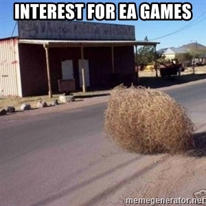 Tumbleweed - interest for ea games