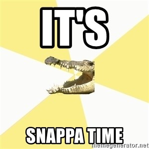 Classics Crocodile - It's  Snappa Time