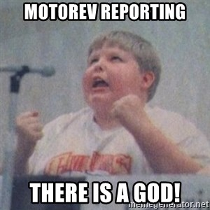 The Fotographing Fat Kid  - motorev reporting there is a god!