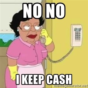 Family guy maid - no no i keep cash