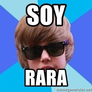 Just Another Justin Bieber - soy rara