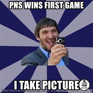 typical_hockey_player - PNS WINS FIRST GAME I take picture