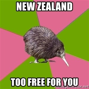 Choir Kiwi - New Zealand too free for you
